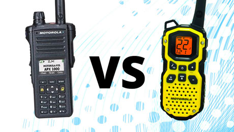 walkie talkies & two-way radios